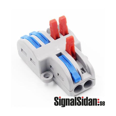 Kabelsplitter 1-2, 5-pack [222-422]