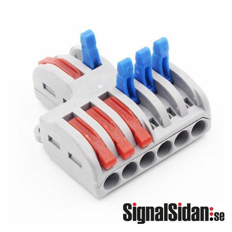 Kabelsplitter 1-3, 5-pack [222-423]