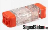 Kontaktdon 2-poligt delbart 5-pack [21-1452]
