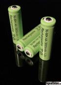 Laddningsbart Ni-MH AA batteri 4-pack [18544]
