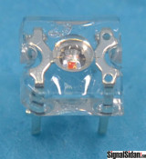 Lysdiod 3mm VarmVit 10-pack [30-020]