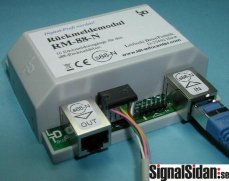 Feedback modul 16 ingångar s-88