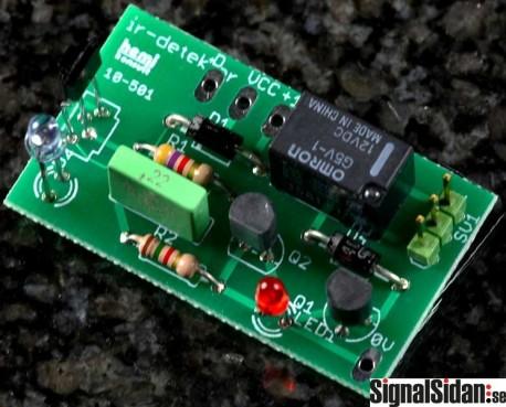 IR-detektor, färdigbyggd