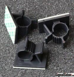 Kabelhållare, självhäftande 10-pack [24-3012]