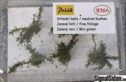 Medium buskar - MixGrön [9366]