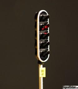 Huvudsignal 5-ljus Färdigbyggd [11-2131]