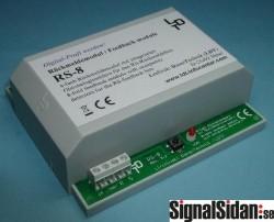 Feedback modul 8 blockdetektorer