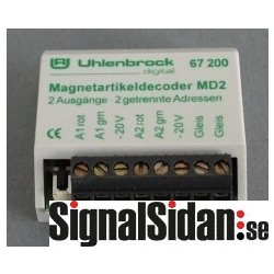 Växeldekoder MD2 [67200]