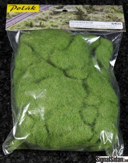 Flockdekor - 6 mm - Vårgrön [8401]